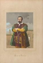 Juan de Padilla. From: Hombres y mujeres ce?lebres de todos los tiempos by Juan Landa, 1875-1877. Private Collection.