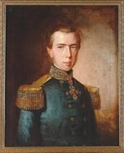 Archduke Ferdinand Maximilian of Austria (Maximilian I of Mexico), c. 1850. Private Collection.