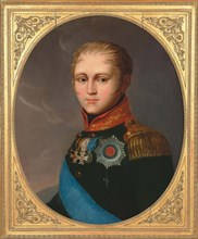 Portrait of Emperor Alexander I (1777-1825), c. 1810. Private Collection.