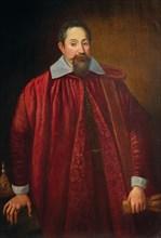Portrait of Jacopo Pitti (1519-1589) as a Florentine Senator, End of 16th cen. Private Collection.