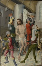 The Flagellation of Christ, ca 1465. Found in the collection of Szepmuveszeti Muzeum, Budapest.