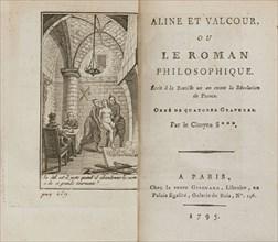 Aline et Valcour ou, Le Roman philosophique by Marquis de Sade, 1795. Private Collection.