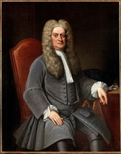 Portrait of Sir Isaac Newton (1642-1727), ca 1720. Private Collection.