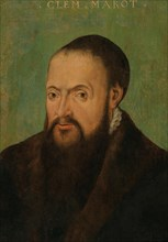 Portrait of the Poet Clément Marot (1496-1544), First Half of 16th cen. Private Collection.
