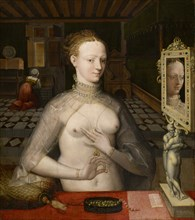 Portrait of a Lady , Second Quarter of the 16th century. Found in the collection of Art Museum Basel.