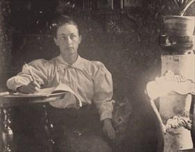 Hilma af Klint , c. 1890. Found in the collection of Courtesy of Stiftelsen Hilma af Klints Verk.