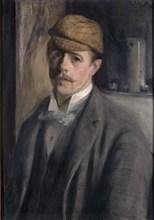 Self-Portrait, c. 1890. Found in the collection of Petit Palais, Musée des Beaux-Arts de la Ville de Paris.