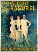 Docteur Rasurel: Sous Vêtements Hygièniques (Doctor Rasurel: Hygienic Undergarments), c. 1911. Private Collection.