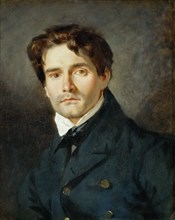 Portrait of Léon Riesener (1808-1878), 1835. Found in the collection of Musée du Louvre, Paris.