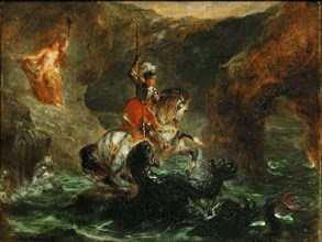Perseus Freeing Andromeda, 1847. Found in the collection of Musée du Louvre, Paris.