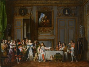 Molière Honored by Louis XIV, 1824. Private Collection.