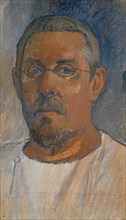 Self-Portrait with glasses, 1903. Found in the collection of Art Museum Basel.