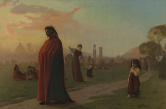 Dante (He Hath Seen Hell) , 1864. Private Collection.