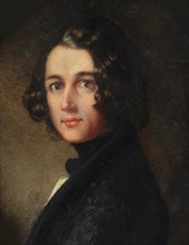 Portrait of Charles Dickens (Detail), 1843. Found in the collection of Charles Dickens Museum, London.