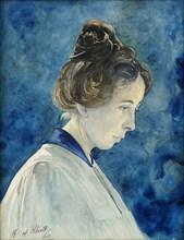 Self-Portrait, c. 1890. Found in the collection of Courtesy of Stiftelsen Hilma af Klints Verk.