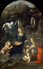 The Virgin of the Rocks, Between 1492 and 1508. Found in the collection of Musée du Louvre, Paris.