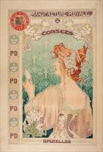 Manufacture Royale de corsets, 1897. Private Collection.