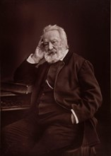 Portrait of Victor Hugo (1802-1885), 1878. Found in the collection of Maison de Victor Hugo.