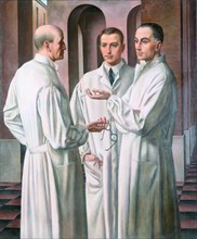 The Surgeons, 1926. Found in the collection of Musei Civici, Vicenza.