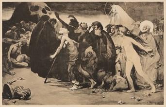 Le Chemin de la Mort (The Path of Death), c. 1898. Private Collection.