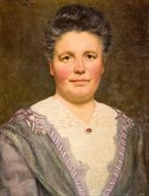 Portrait of Geraldine Cadbury Nee Southall, 1912.