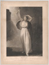 Cassandra Raving (Shakespeare, Troilus and Cressida, Act 2, Scene 2), first published 1795; reissued 1852.