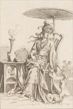 Chinese Lady, 1738-45.