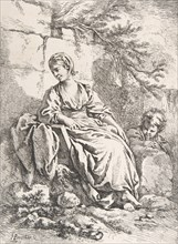 The Young Girl Resting, 1756.
