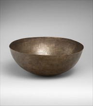 High-Tin Bronze Bowl, Afghanistan, 11th century.