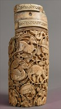 Fragment of an Oliphant, Italy, 11th-12th century.