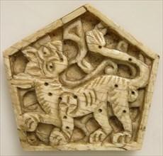 Plaque, Italy, 12th century.