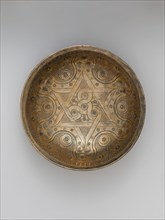 High-Tin Bronze Bowl, present-day Afghanistan, 12th century.