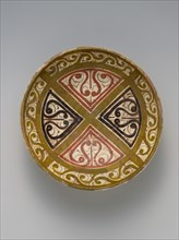 Bowl Decorated in the 'Beveled Style', present-day Uzbekistan, 10th century.