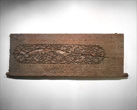 Carved Door Panel, present-day Uzbekistan, late 15th century.