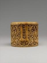 Cylindrical Box (Pyxis), Spain, 10th century.