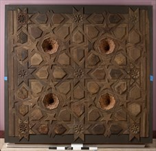 Panel from a Ceiling, Spain, 14th-15th century.