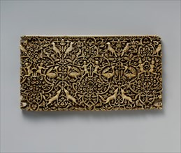 Panel from a Rectangular Box, Spain, 10th-early 11th century.