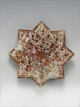 Star-Shaped Tile, Spain, first half 15th century.