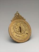 Astrolabe of ?Umar ibn Yusuf ibn ?Umar ibn ?Ali ibn Rasul al-Muzaffari, Yemen, dated A.H. 690/ A.D. 1291.