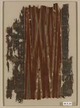 Ikat Textile Fragment, Yemen, 9th-10th century.
