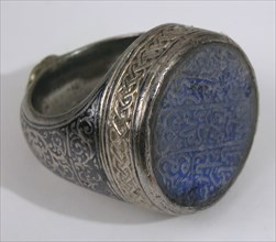 Seal Ring with the name of Hajji Muhammad ibn Mahmud, probably 16th century.