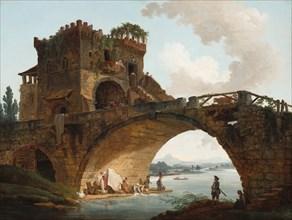 The Ponte Salario, c. 1775.