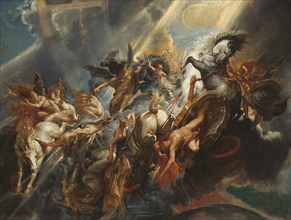 The Fall of Phaeton, c. 1604/1605, probably reworked c. 1606/1608.