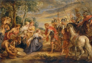 The Meeting of David and Abigail, c. 1630.