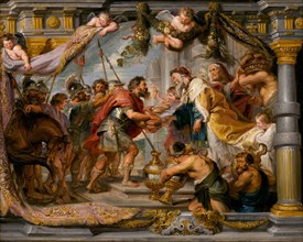 The Meeting of Abraham and Melchizedek, c. 1626.