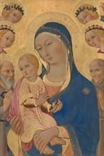 Madonna and Child with Saint Jerome, Saint Bernardino, and Angels, c. 1460/1470.