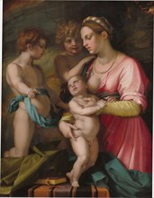 Charity, before 1530.