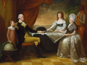 The Washington Family, 1789-1796.