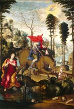 Saint George and the Dragon, probably 1518.