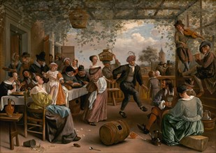 The Dancing Couple, 1663.